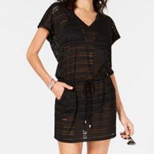 🚨NEW LIST Calvin Klein Sheer Beach Cover Up Dress